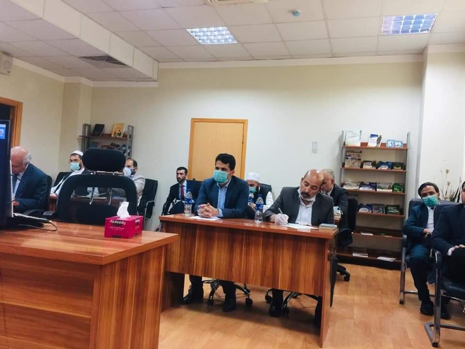 video conference between science academy of Tatarstan and academy of science of afghanistan